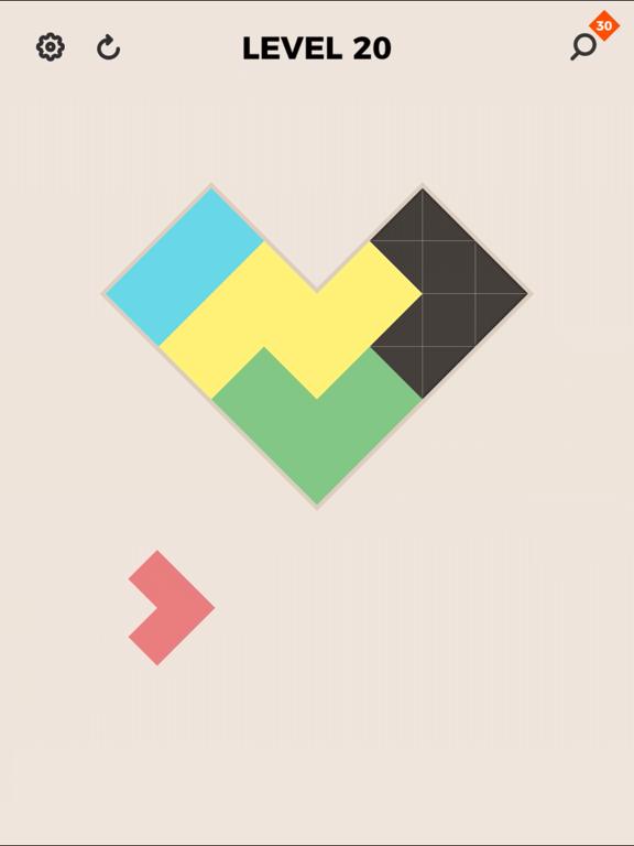 ZEN Block™ - タングラム & ブロックパズル для iPad