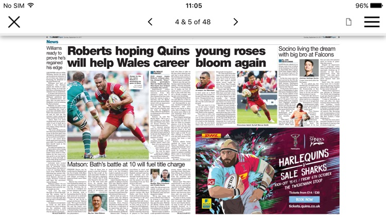 Rugby Paper - Welsh Edition screenshot-3