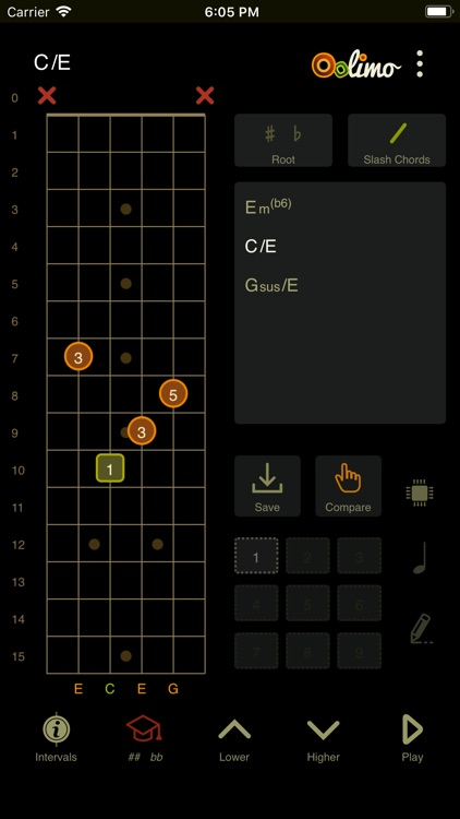 Oolimo Guitar Chords screenshot-3