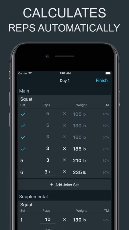 Ultimate 5/3/1 - Workout Log screenshot-3