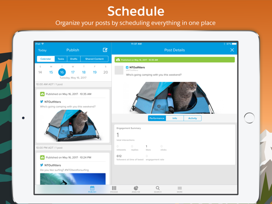 Screenshot #5 pour Salesforce Social Studio
