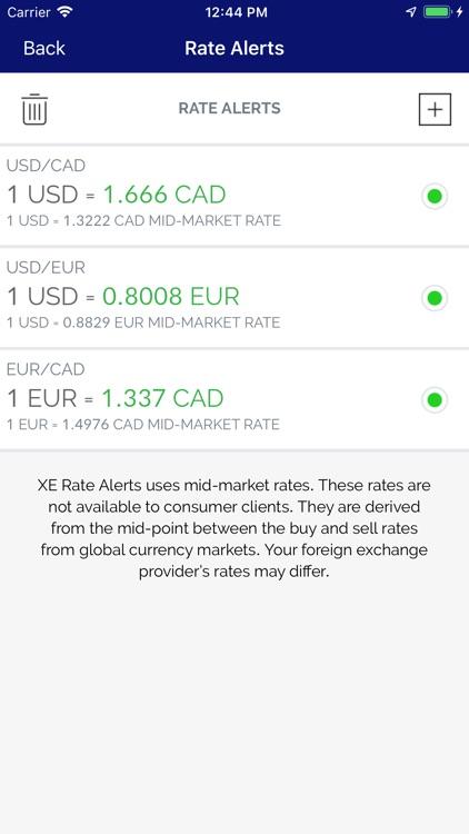 XE Currency Converter Pro screenshot-4