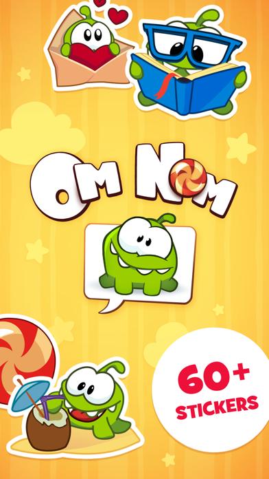 Screenshot #1 pour Om Nom Stickers