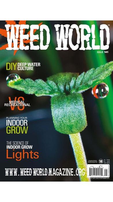 Weed World Magazine screenshot 1