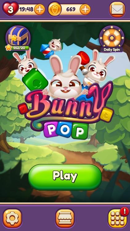 Bunny Pop Blast screenshot-8