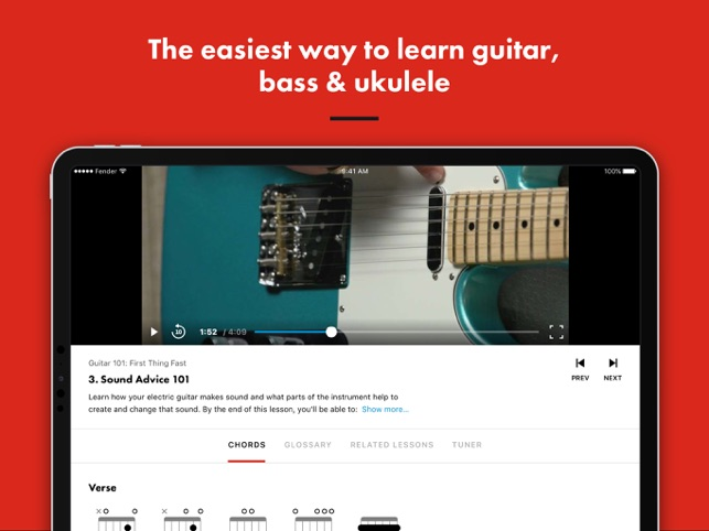 Guitar Lessons | Fender Play on the App Store