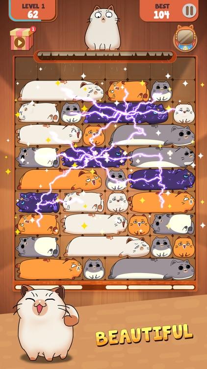 Haru Cats: Slide Block Puzzle screenshot-0