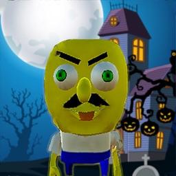 Scary Horror Sponge Neighbor
