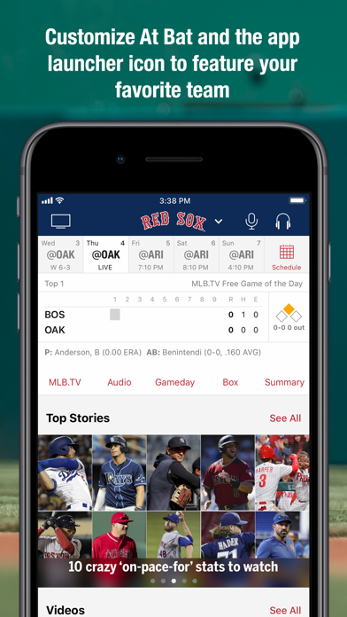 Screenshot for MLB At Bat in United States App Store