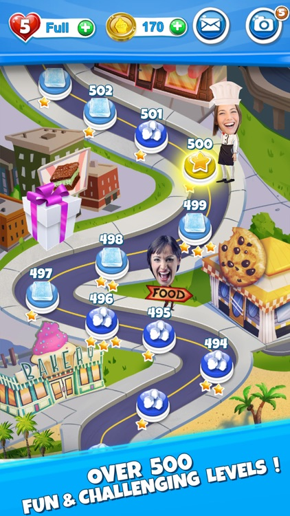 Crazy Kitchen: Match 3 Puzzles screenshot-3