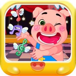 音乐节奏学习 三只小猪爱学习