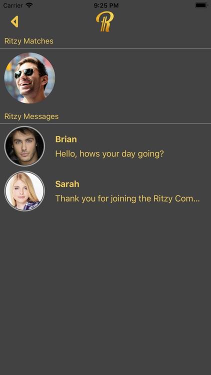 Ritzy - Elite Dating Singles