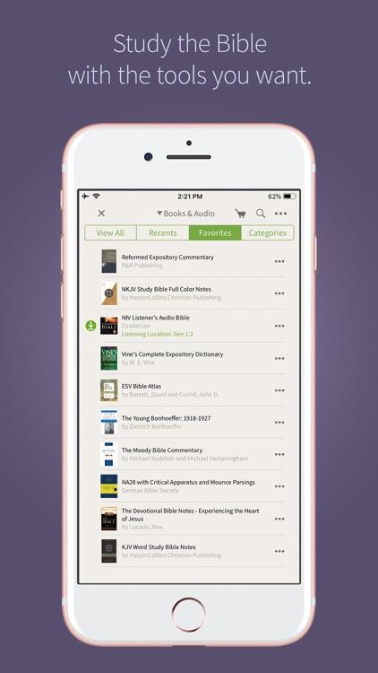 Olive Tree Bible App screenshot-9