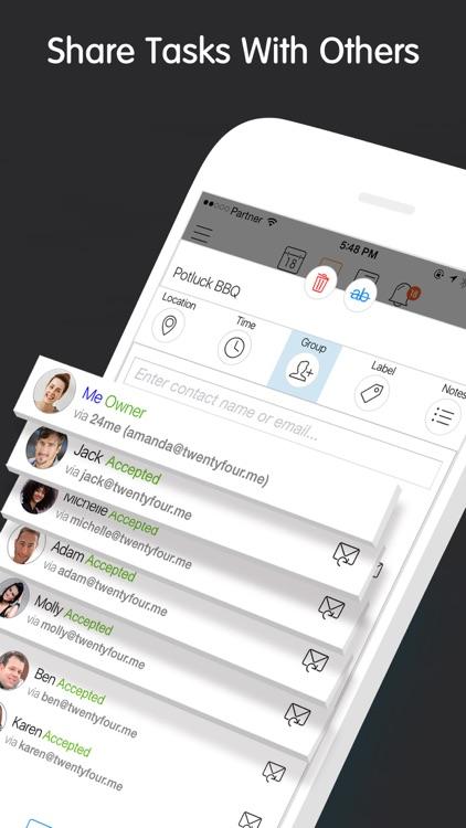 24me Smart Personal Assistant screenshot-5
