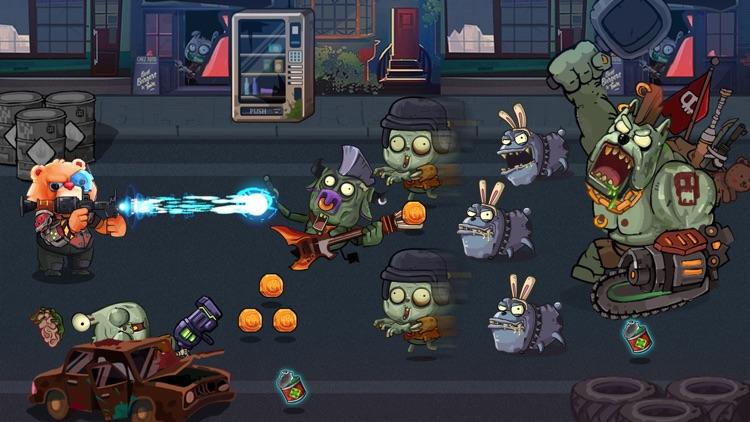Bear Gunner : Zombie Shooter screenshot-3