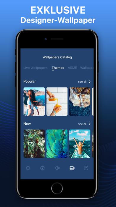 Screenshot for Klingeltöne & Live-Hintergrund in Austria App Store