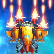 Game HAWK – Alien Squadron Shooter v22.1 MOD FOR IOS   MENU MOD   X100 ITEM BOX GAIN   ENEMY CAN'T ATTACK