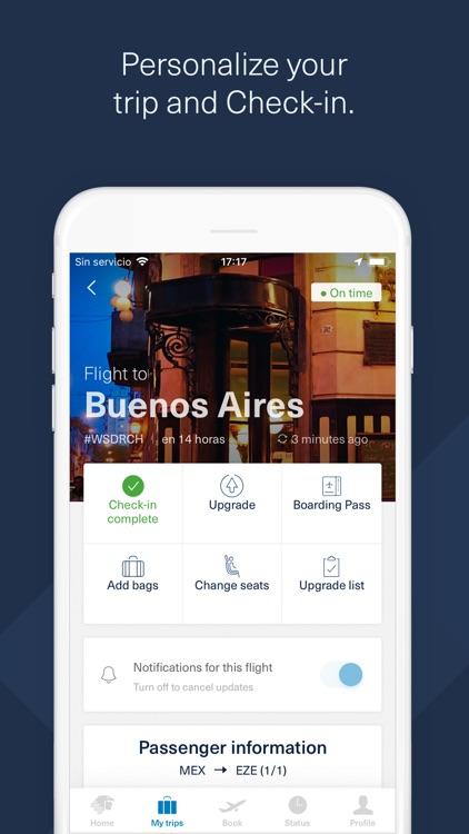 Aeromexico screenshot-4