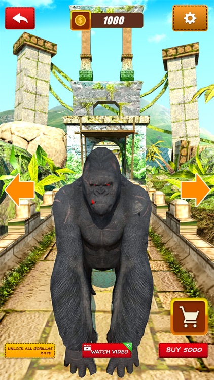 Flying Jungle Gorilla screenshot-3