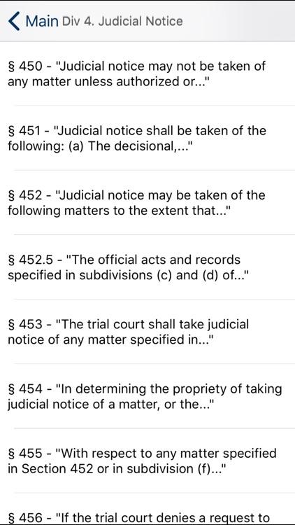 CA Evidence Code 2020 screenshot-4