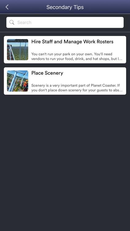 GameNet for - Planet Coaster screenshot-4
