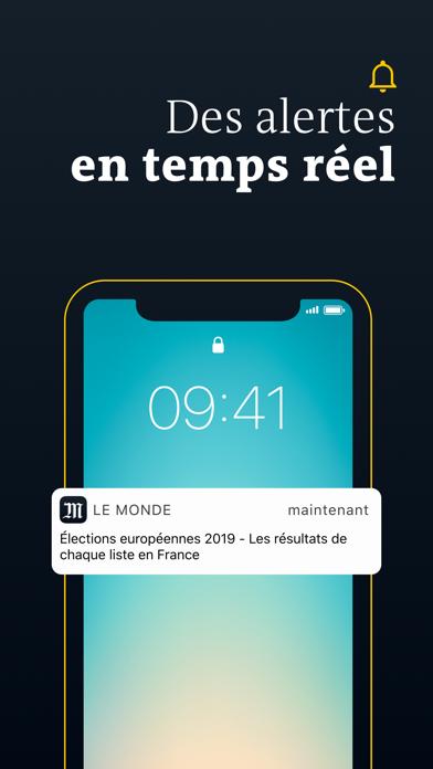 Le Monde, Actualités en direct screenshot four