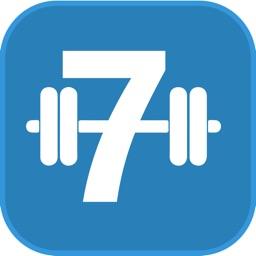 7 Minute Flat Stomach Workout