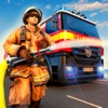 Firefighter Savior Van Hero