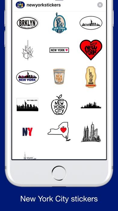 New York emojis - USA stickers screenshot 3