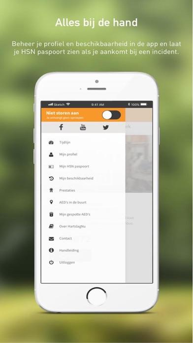 HartslagNu iPhone app afbeelding 3