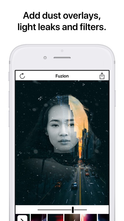 Fuzion - Portrait Mode Editor screenshot-2
