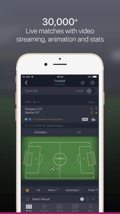 MegaBet Nigeria Sports Betting screenshot-3