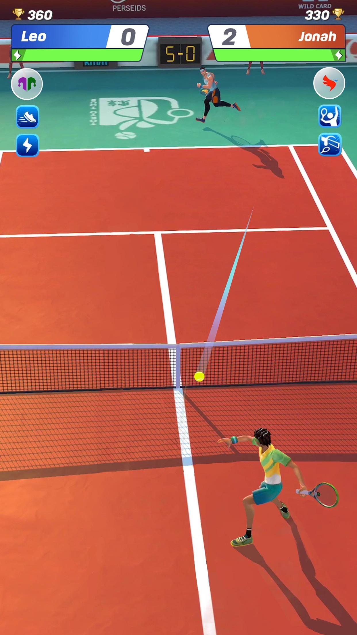 Screenshot do app Tennis Clash: Jogo de Campeões