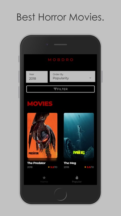Mobdro: Box of Horror Movies