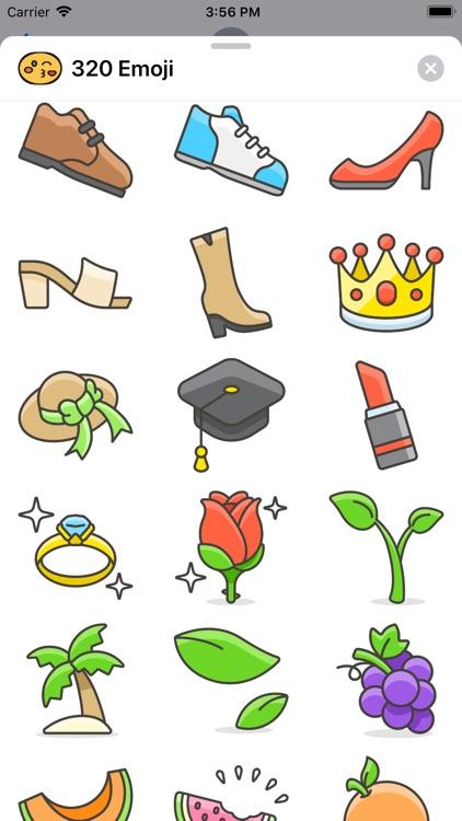 320 Emoji screenshot-4