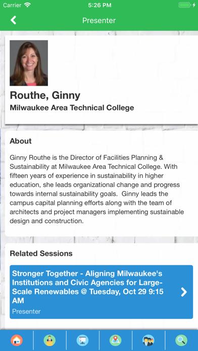AASHE Conferences screenshot four