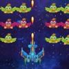 هجوم الفضاء مطلق النار الدجاج