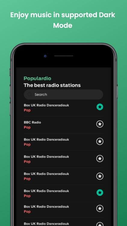 Populardio - The Best Radios screenshot-5