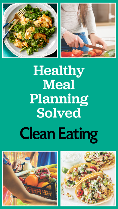 Clean Eating Meals Screenshot