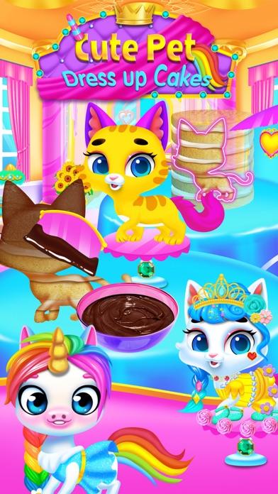 Cute Pet Dress Up Salon Screenshot on iOS