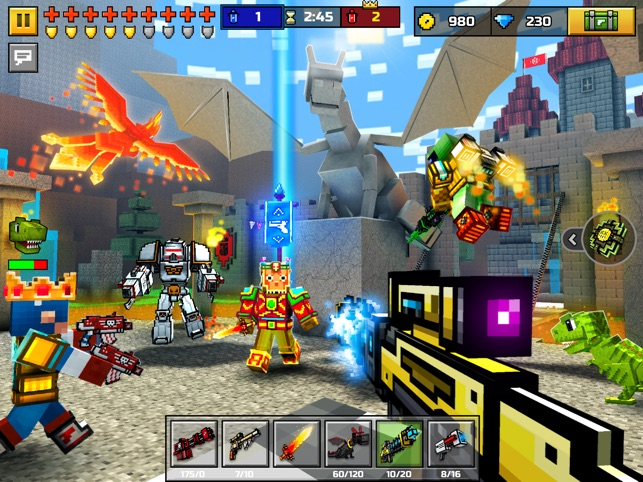 Pixel Gun 3d Fps Pvp Shooter On The App Store - patched roblox fortnite battle royale 3 codes island royale