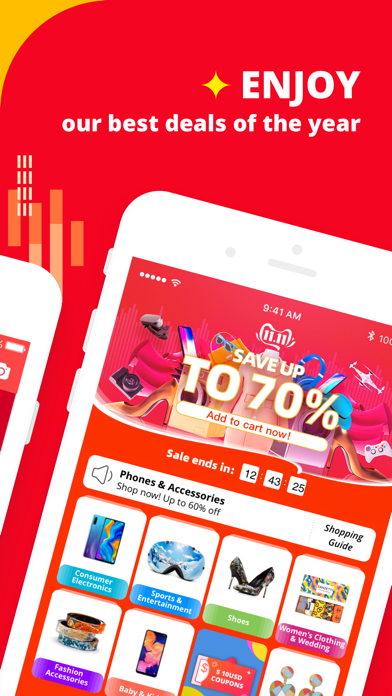 Screenshot for AliExpress Shopping App in India App Store