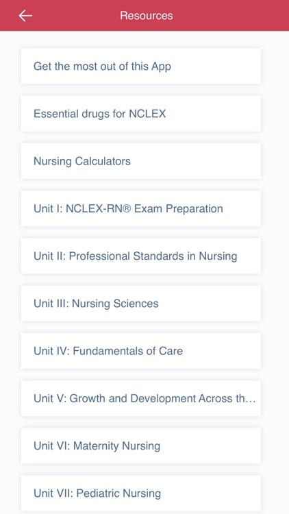 Saunders Comp Review NCLEX RN screenshot-6
