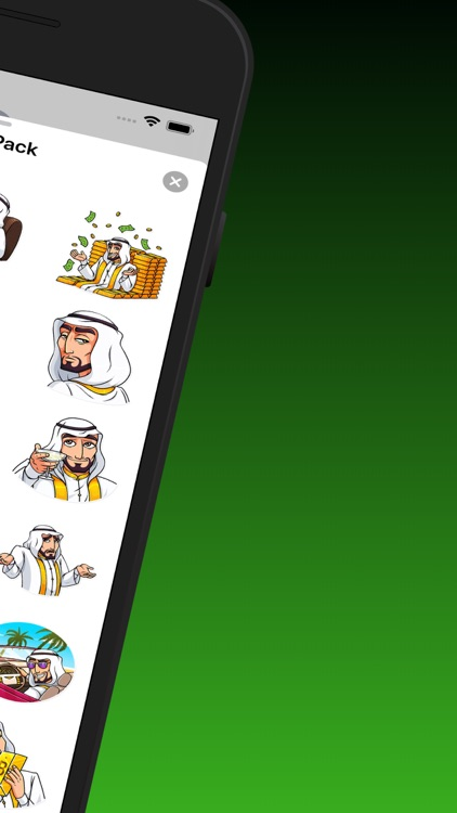 Sheikh Stickers Pack screenshot-4