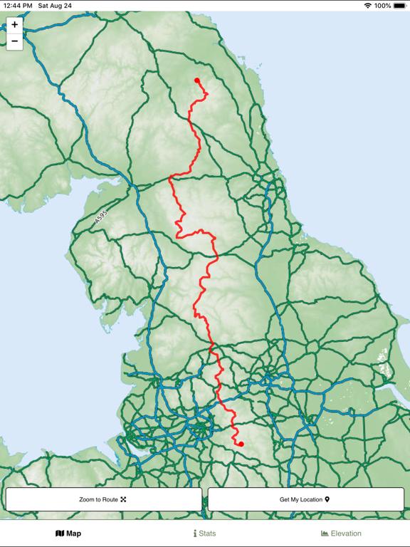 Pennine Way Map screenshot 4