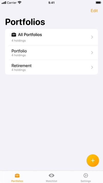 Stokki: Stock Portfolio