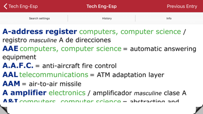 Dictionary Engineering EN-ESのおすすめ画像4