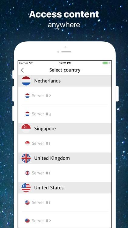 Universe VPN + TOR Browser screenshot-5