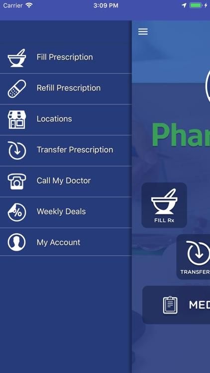 PharmAdvise Mobile App
