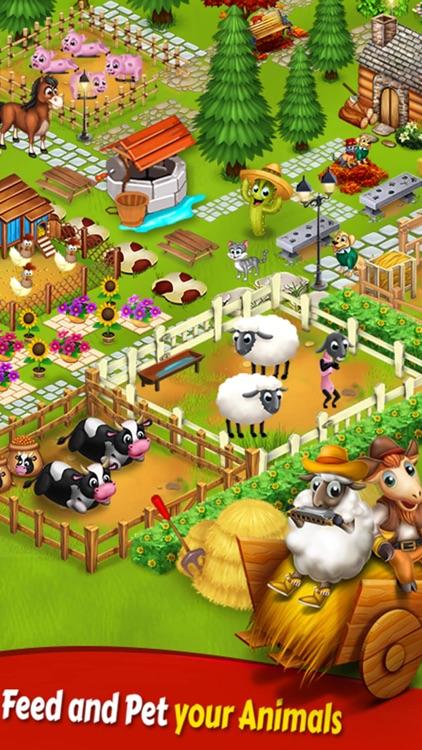 Big Little Farmer Offline Game